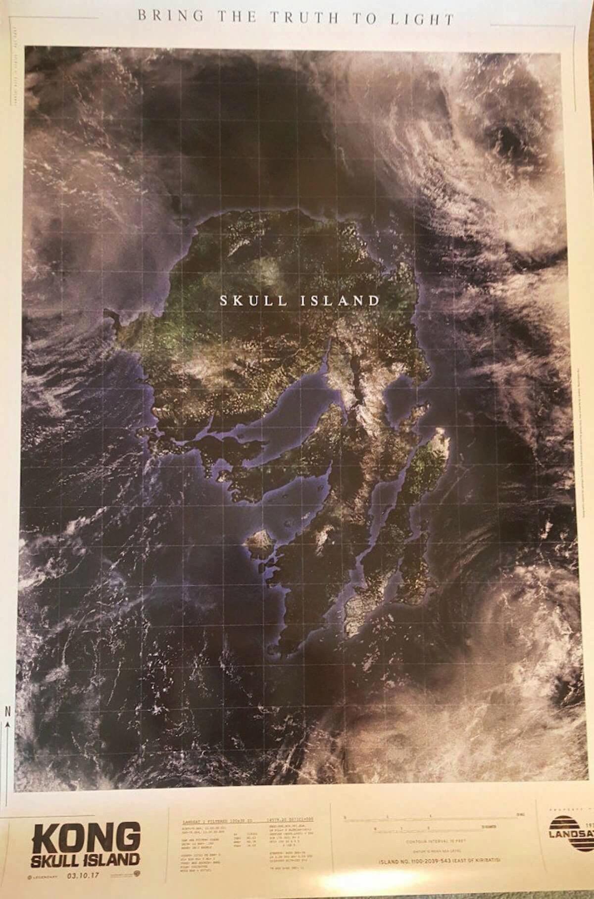 Kong skull island poster viral