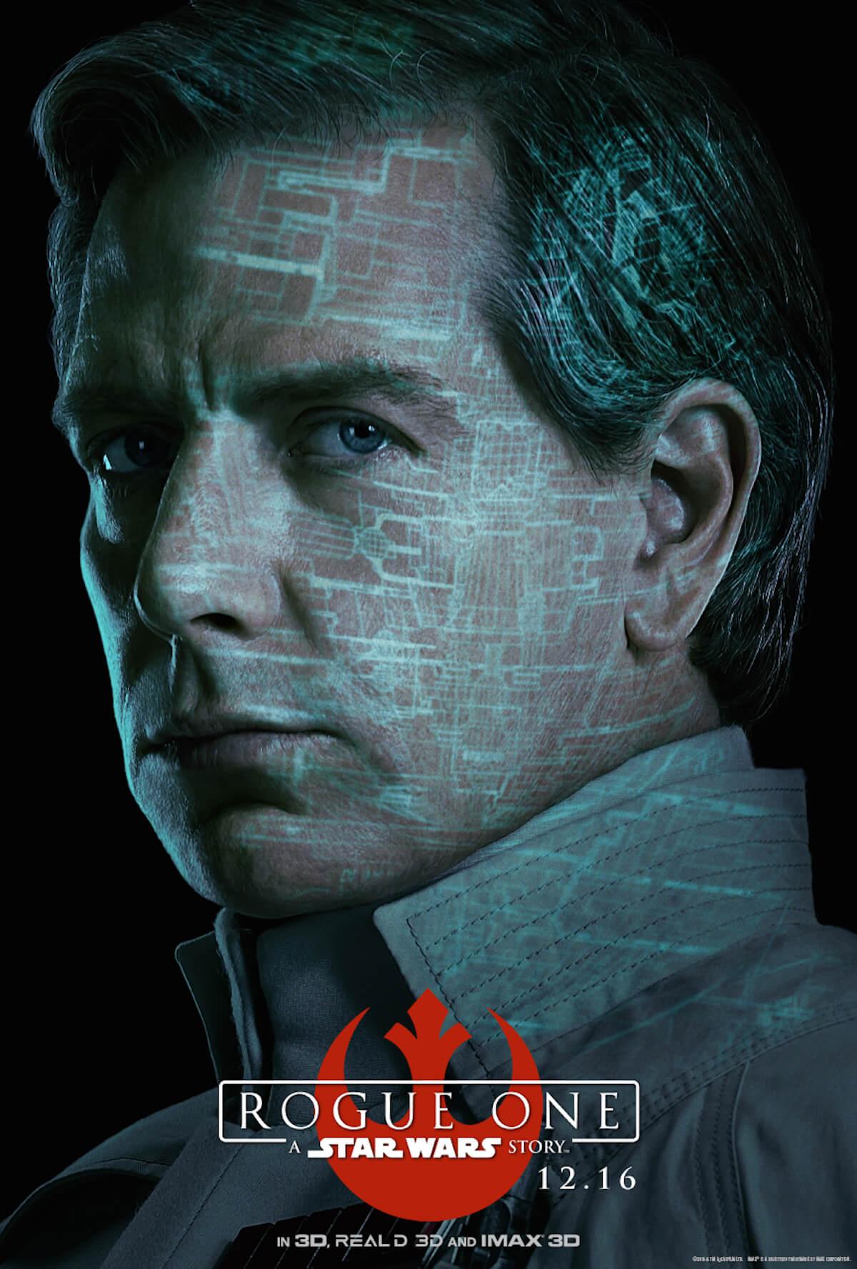 Rogue one poster ben mendelsohn