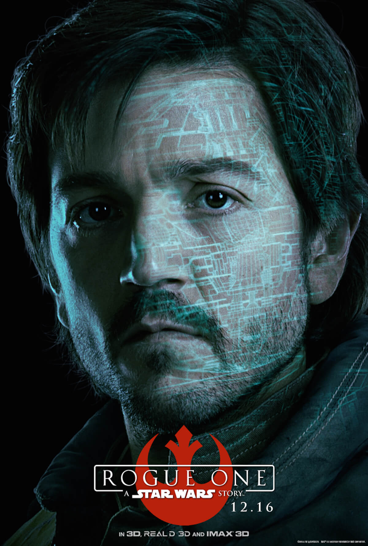 Rogue one poster diego luna