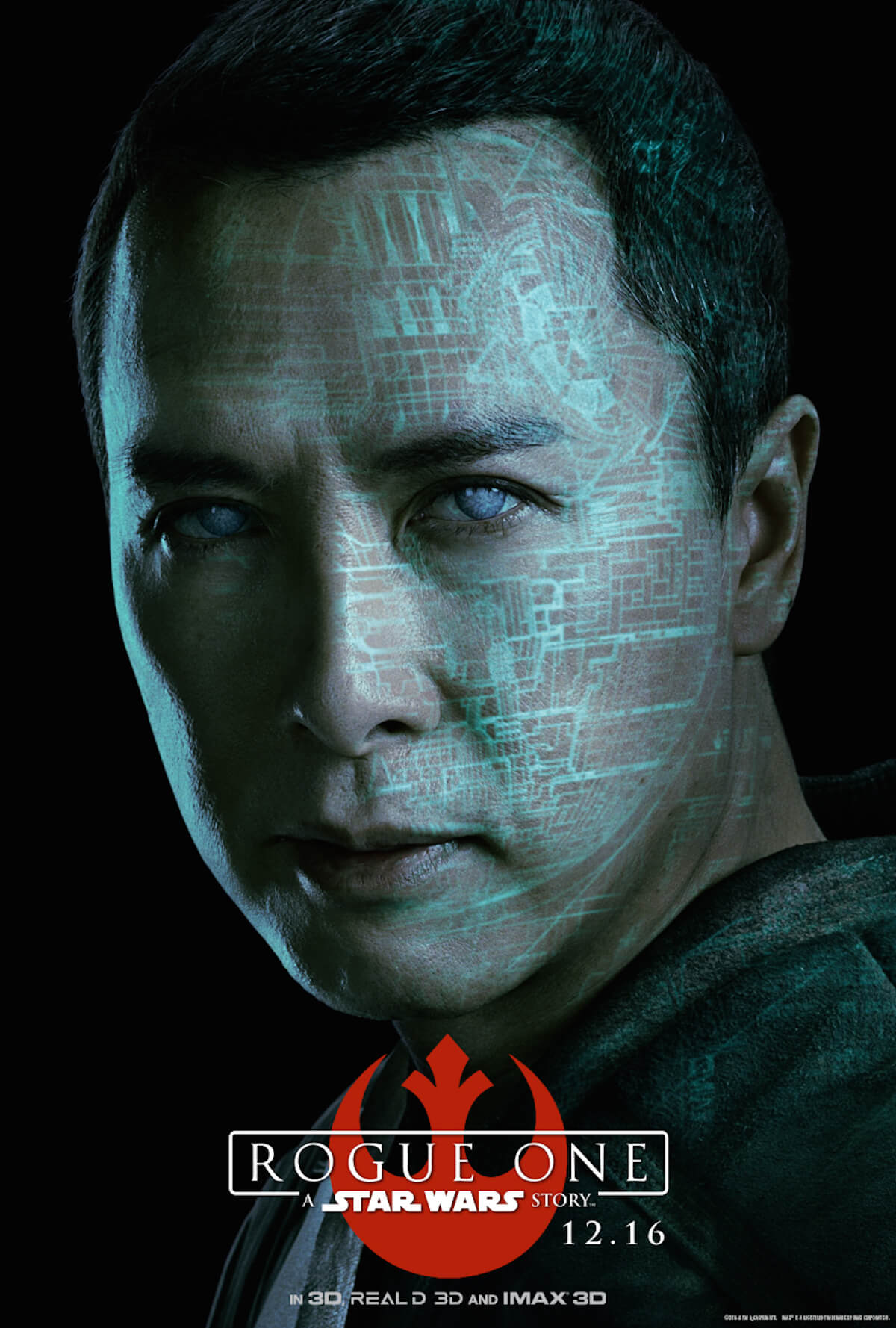 Rogue one poster donnie yen