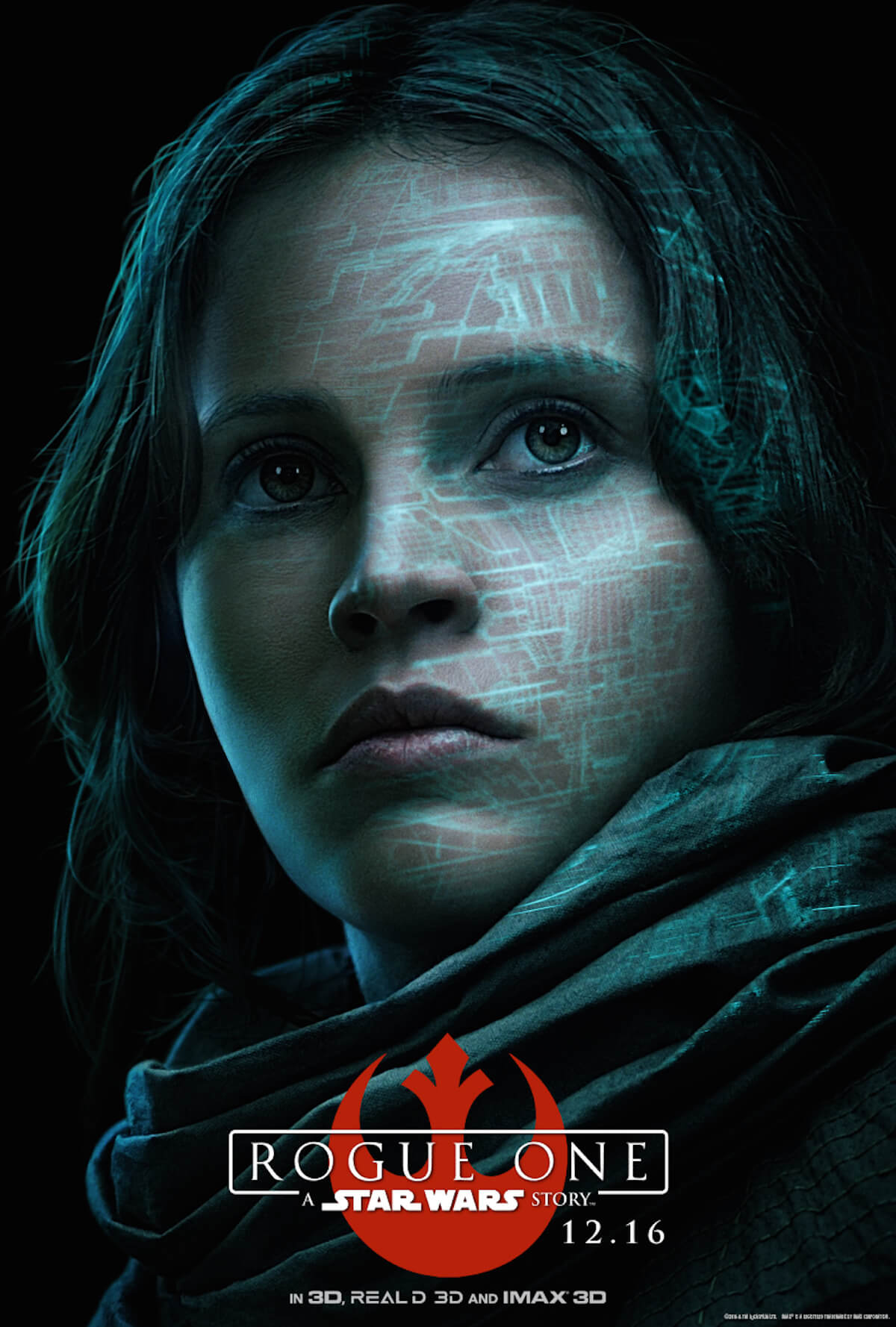 Rogue one poster felicity jones