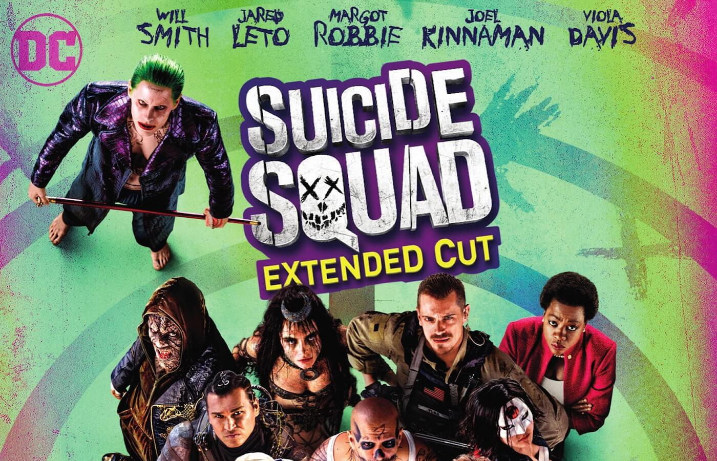 Suicide squad blu ray cover