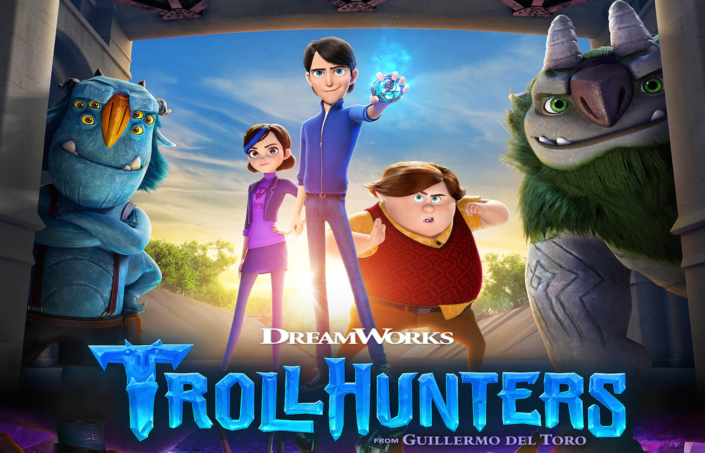 Trollhunters poster 2