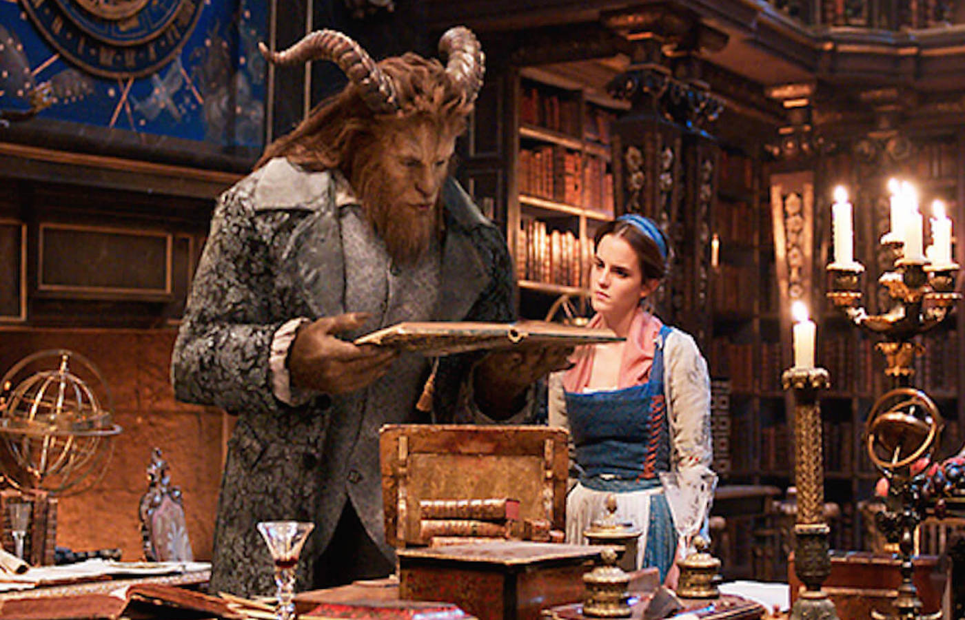Beauty and the beast image ew dan stevens emma watson のコピー