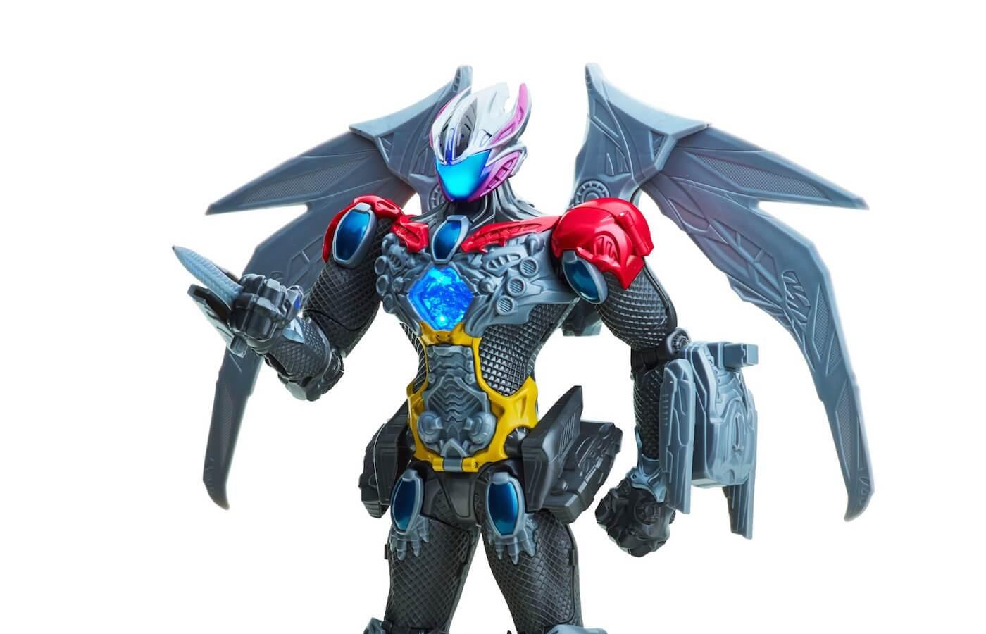 スーパー戦隊『パワーレンジャー』から人型巨大ロボ「メガゾード」のおもちゃ写真が公開!