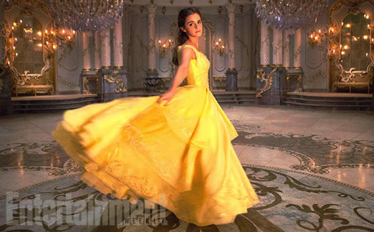Beauty and the beast image ew belle emma watson