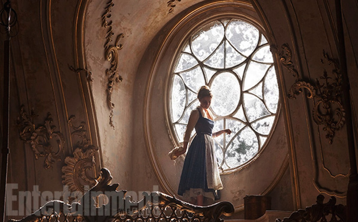 Beauty and the beast image ew emma watson belle