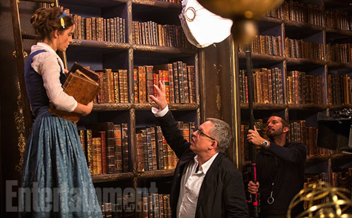 Beauty and the beast image ew emma watson bill condon