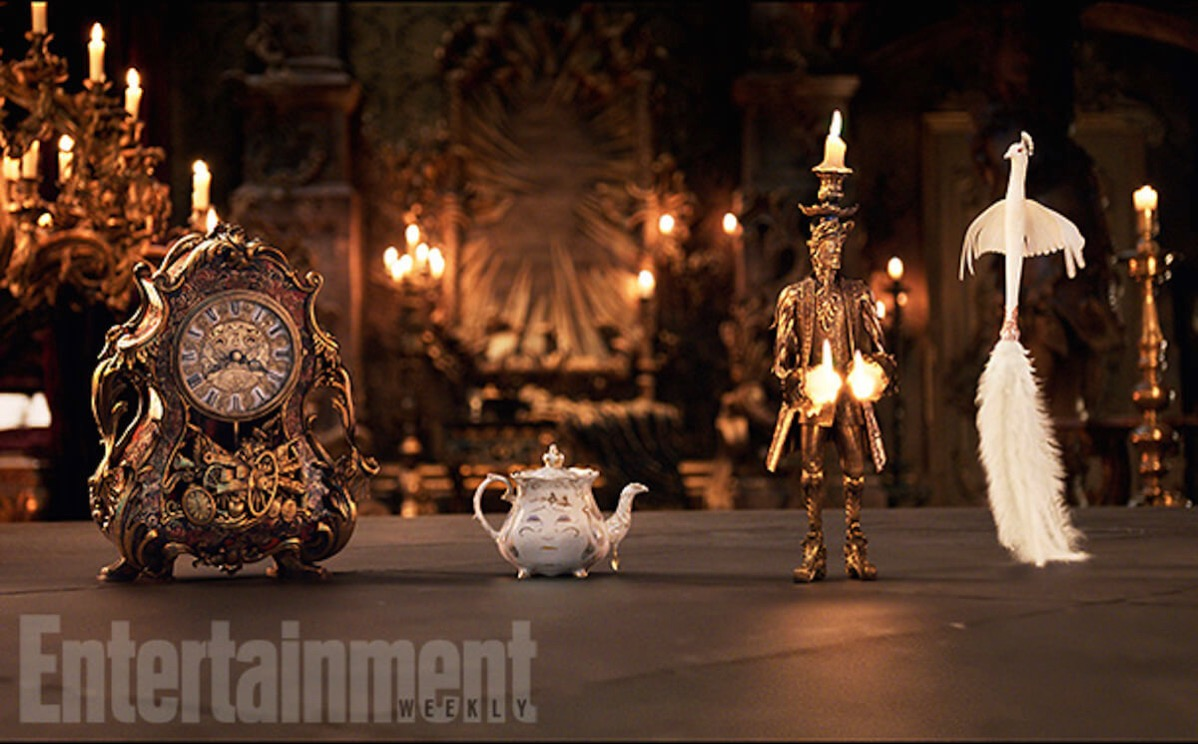 Beauty and the beast image ew ian mckellen emma thompson ewan mcgregor gugu mbatha raw