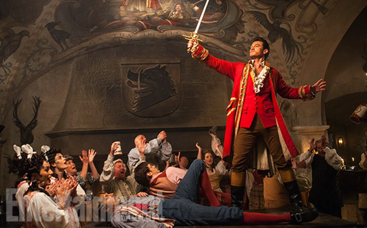 Beauty and the beast image ew luke evans