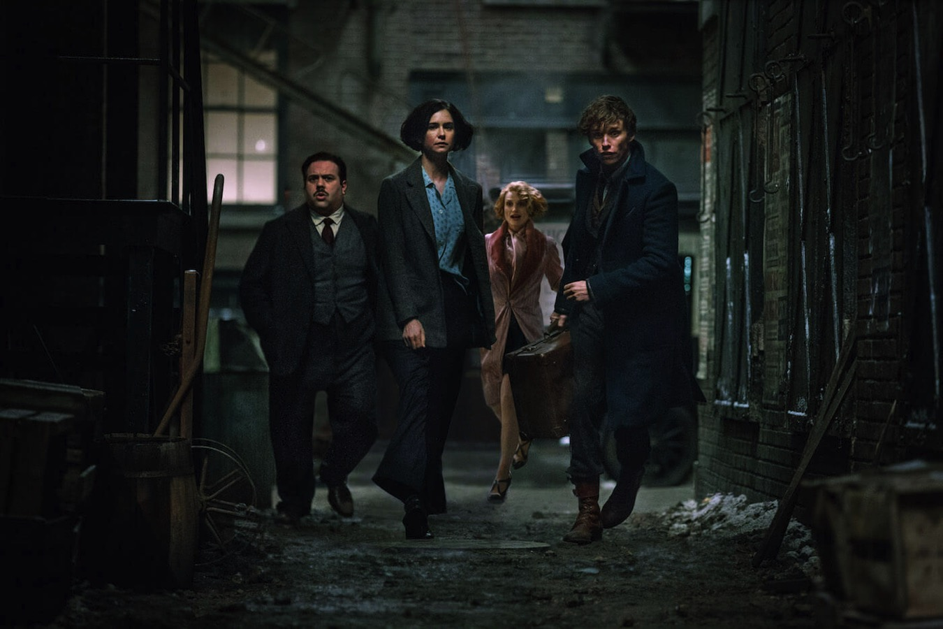 Fantastic beasts and where to find them movie cast