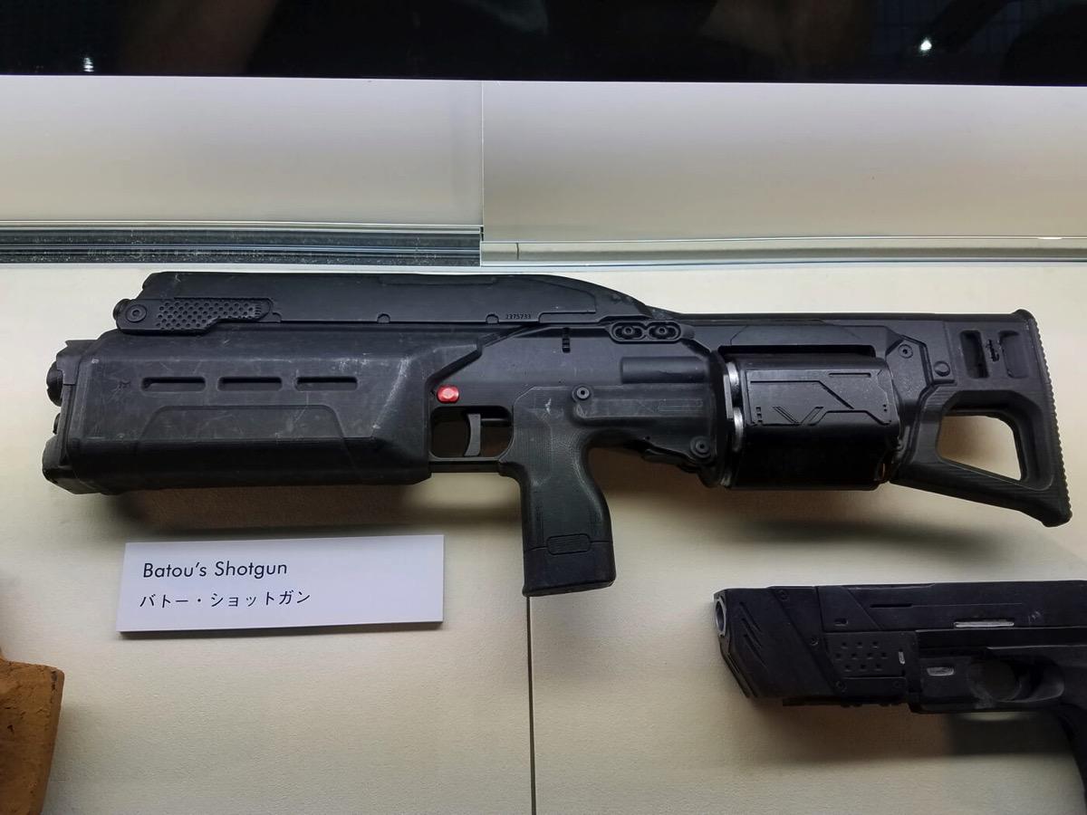 Ghost in the shell batou shotgun prop copy