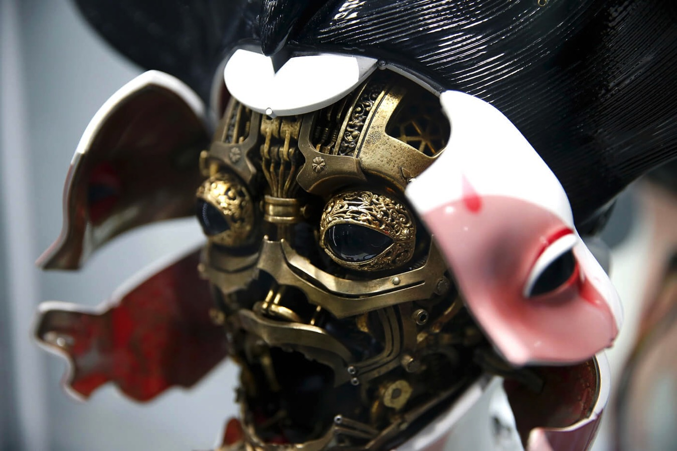 Ghost in the shell geisha mask costume 4 copy