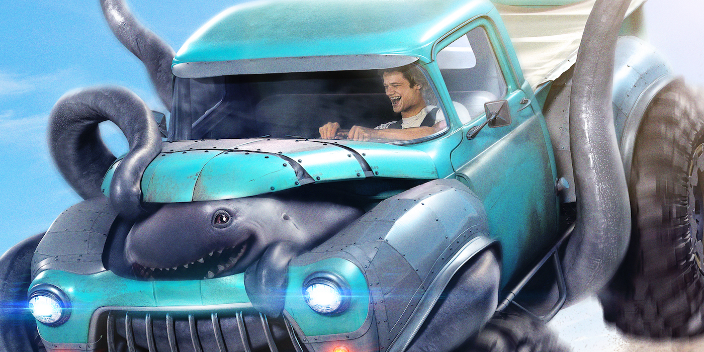 Monster trucks poster 2