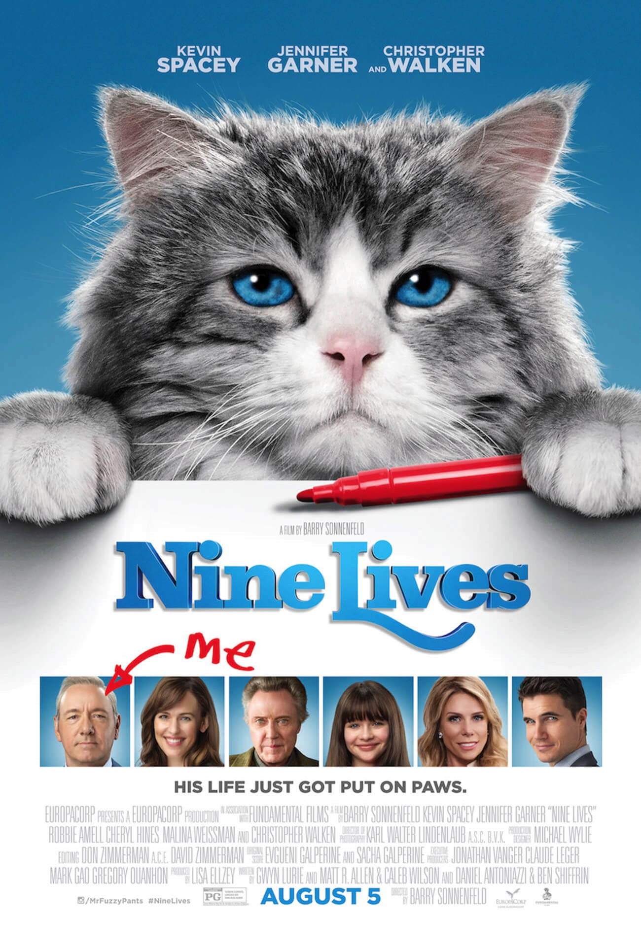 Nine lives final rated one sheet 050616 2