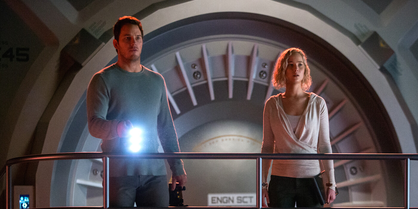 Passengers image chris pratt jennifer lawrence