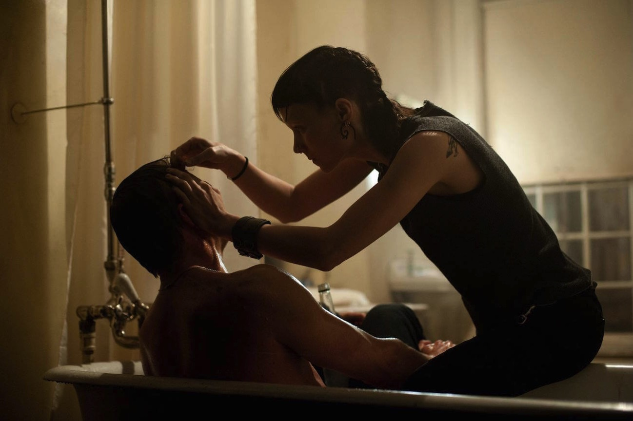 The girl with the dragon tattoo rooney mara