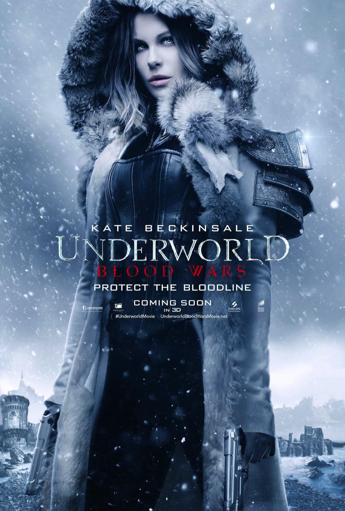 Underworld 5 blood wars poster kate beckinsale