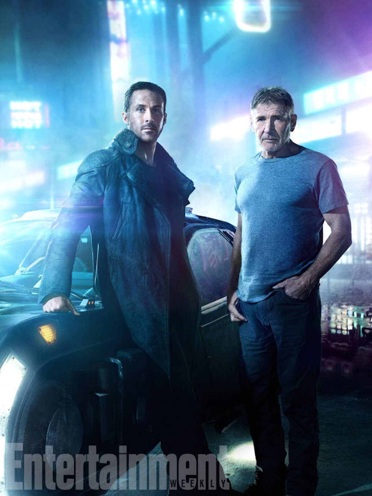 Blade runner 2049 ryan gosling harrison ford
