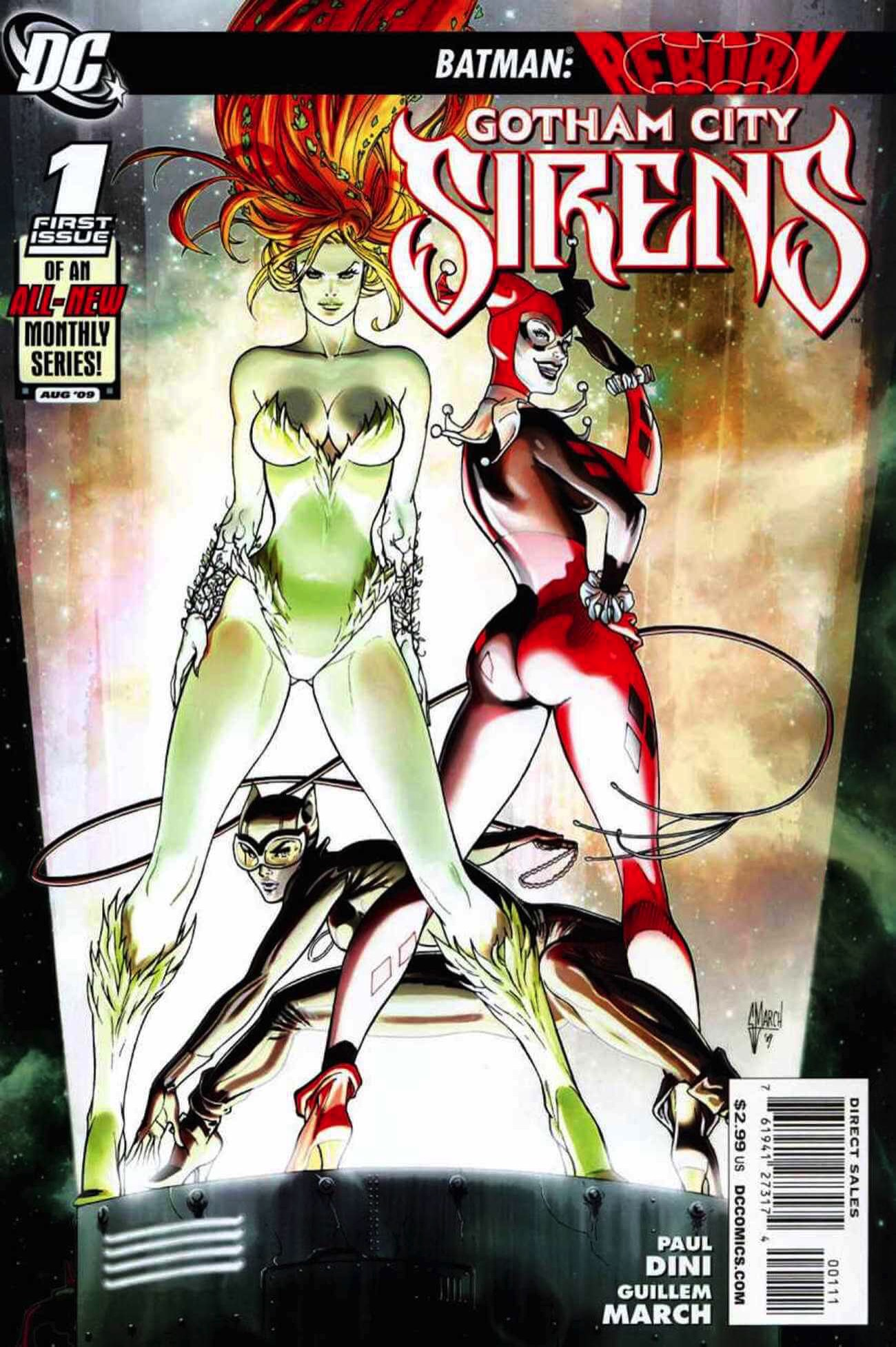 Gotham city sirens comic cover