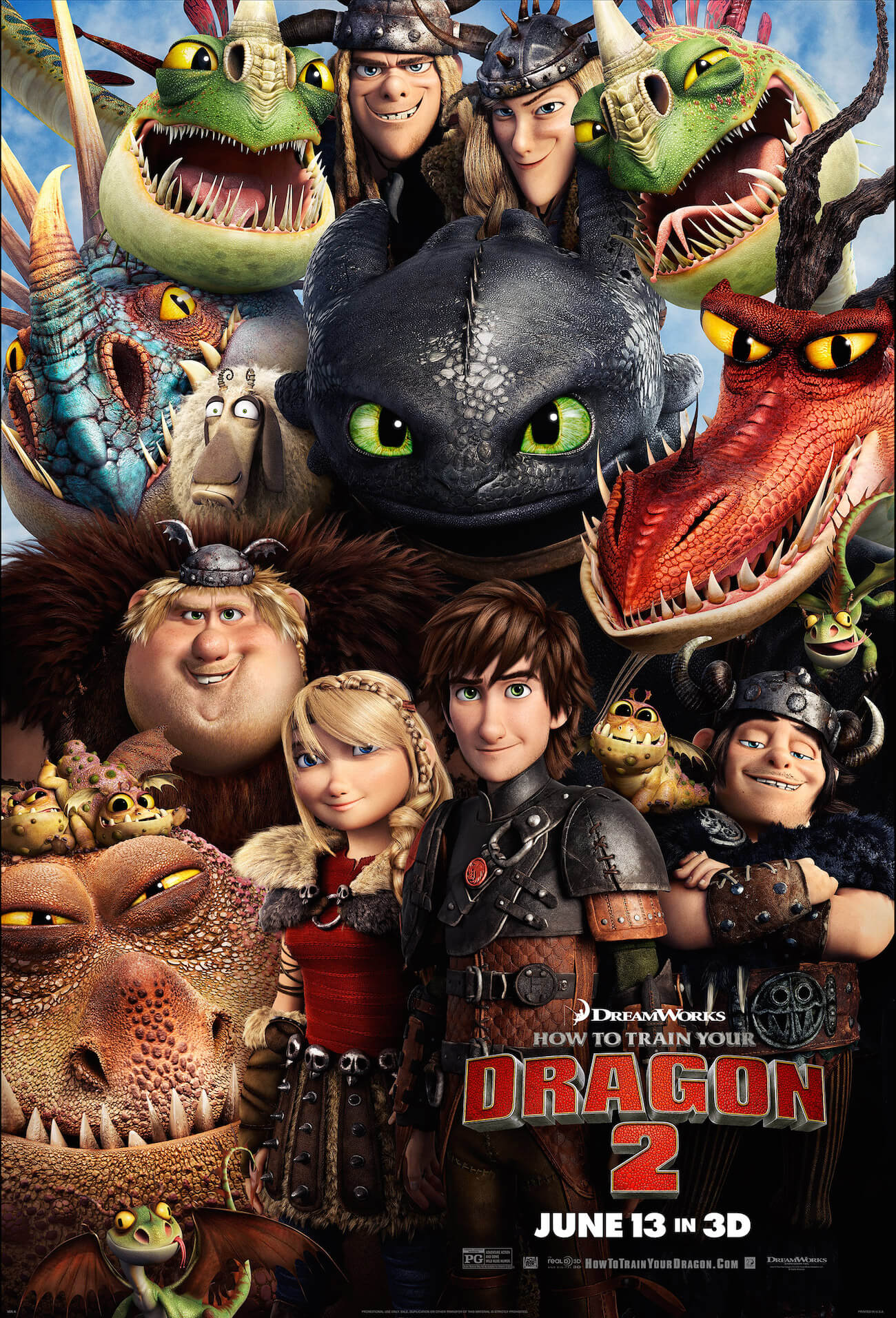 How to train your dragon 2 poster2