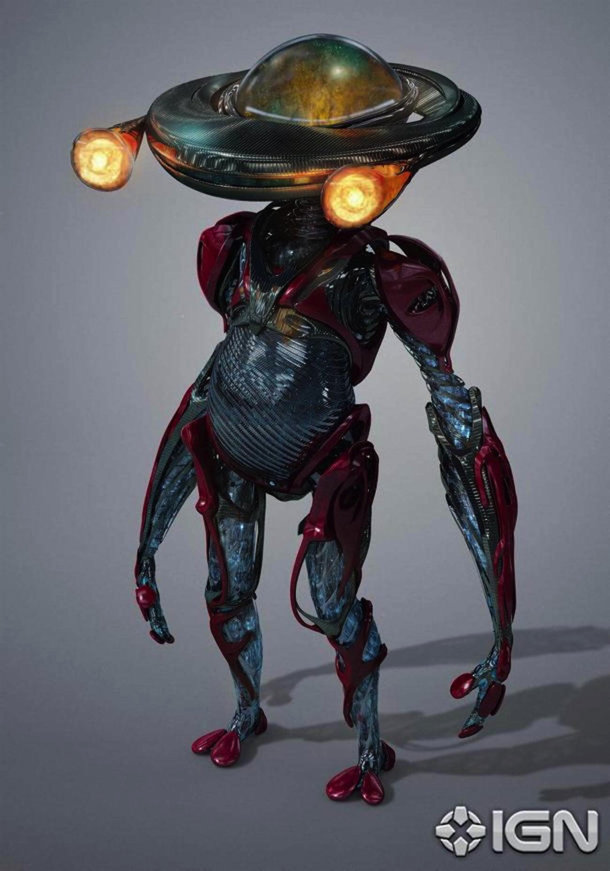 Power rangers alpha 5 concept art
