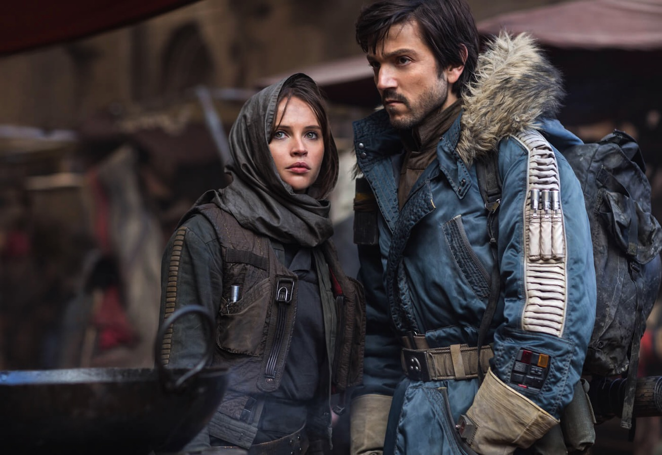 Rogue one felicity jones diego luna