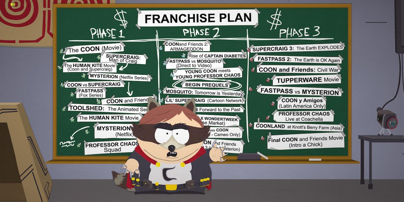 ゲーム版『サウスパーク/South Park: Fractured But Whole』のアベンジャーズ風予告編が公開!