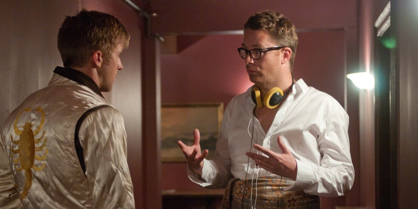 Nicolas Winding Refn on Drive set1