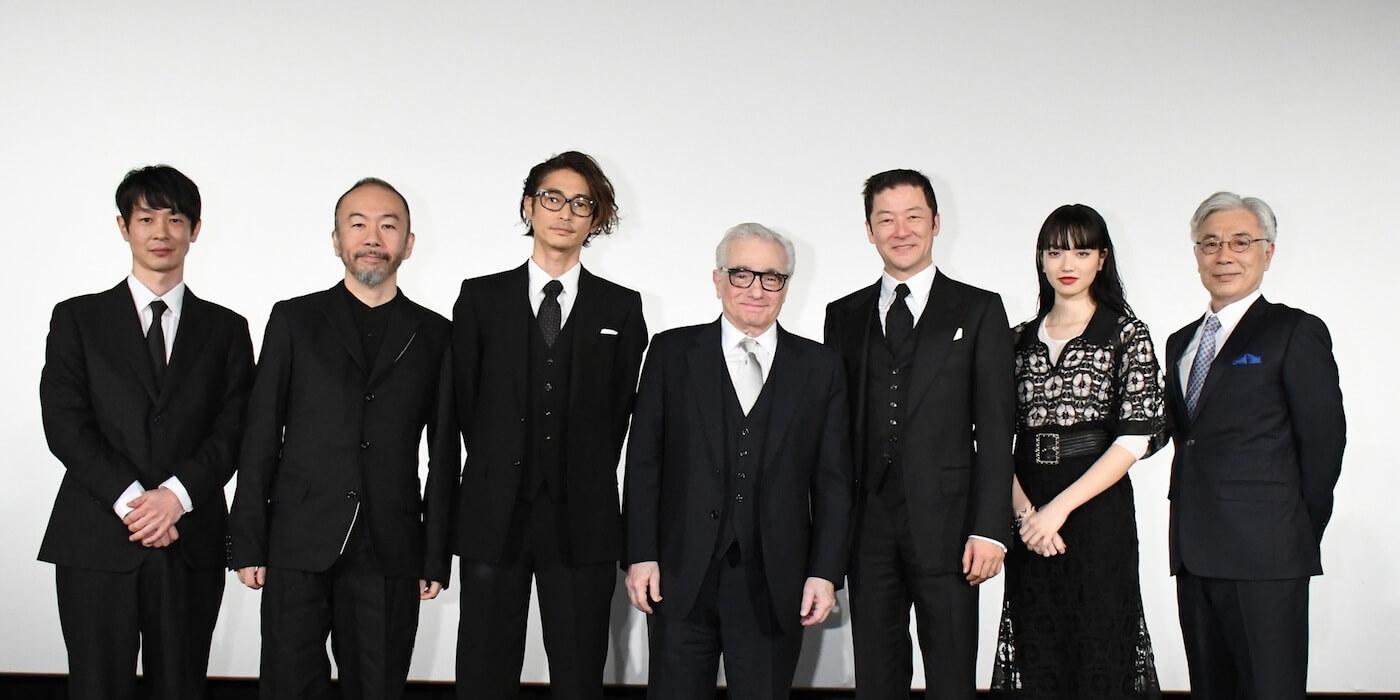 『沈黙 -サイレンス-』ジャパン・プレミアが開催され、スコセッシ監督と日本人キャストが勢ぞろい!