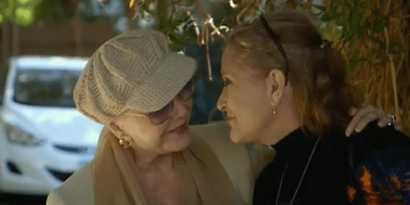 急逝したキャリー・フィッシャーとデビー・レイノルズ親子のドキュメンタリー『Bright Lights』予告編