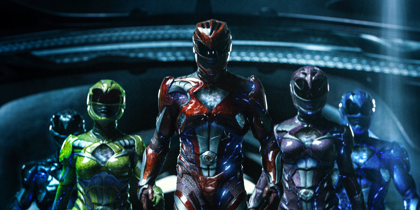 Power rangers zack trini jason kimberly billy