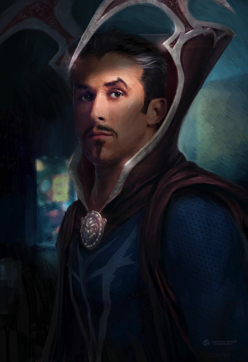 Ryan gosling doctor strange concept art