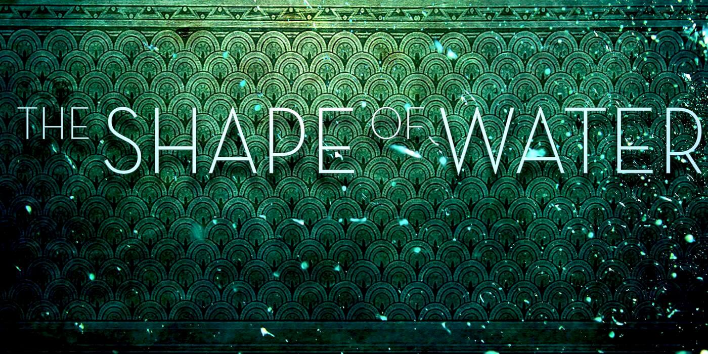 The shape of water logo
