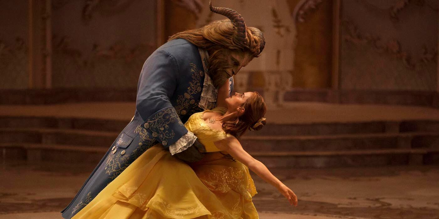 Beauty and the beast live action image