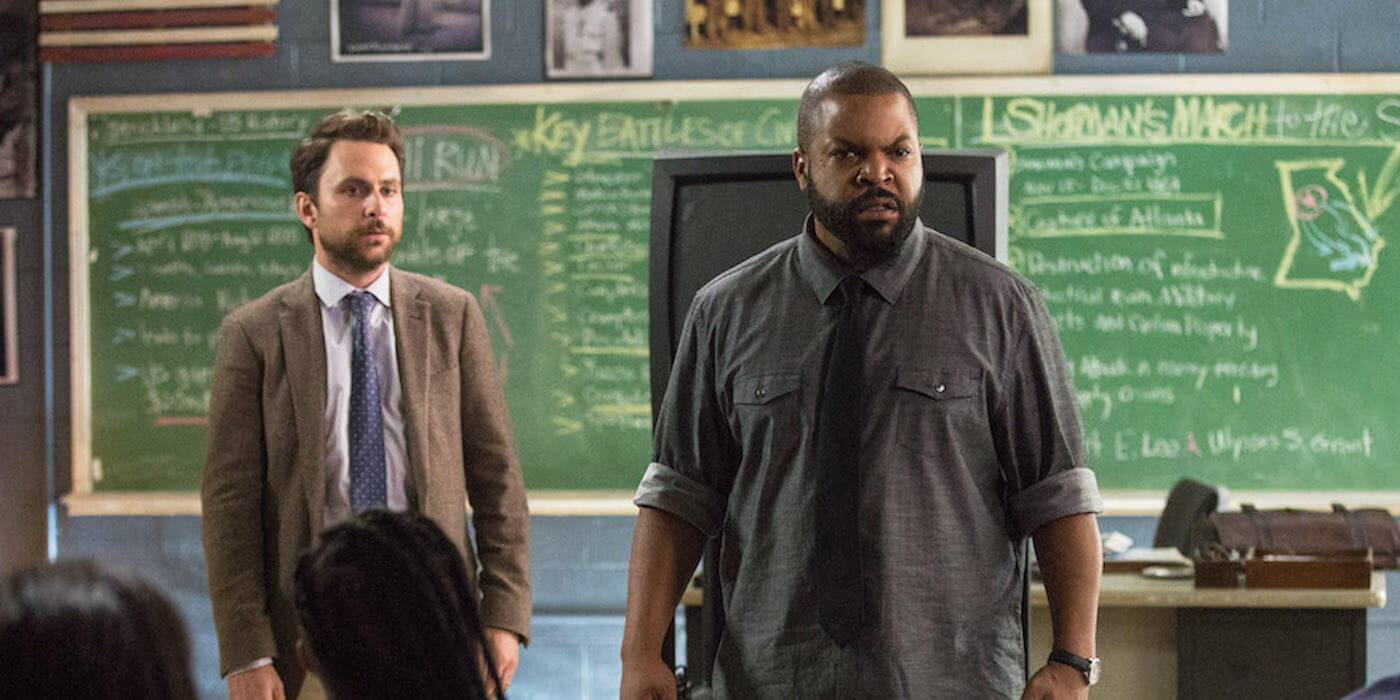 Fist fight charlie day ice cube social