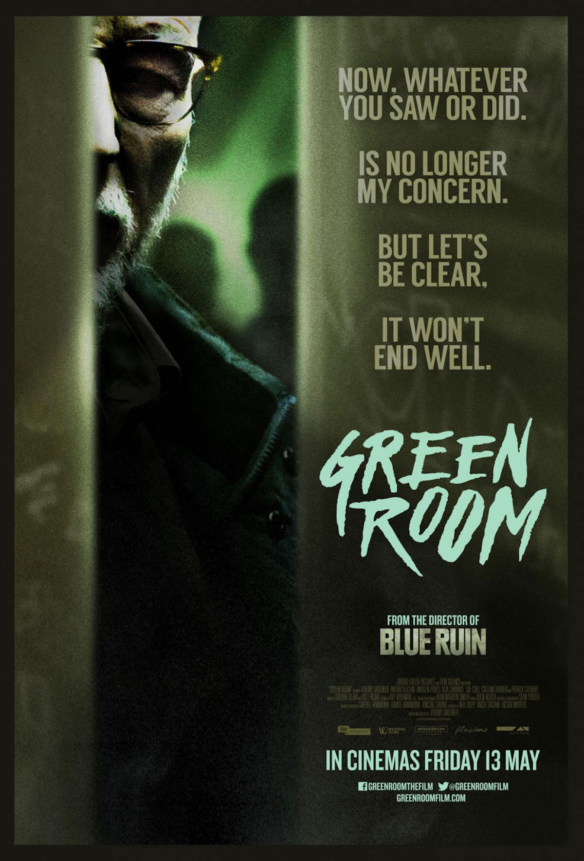 Green room poster1