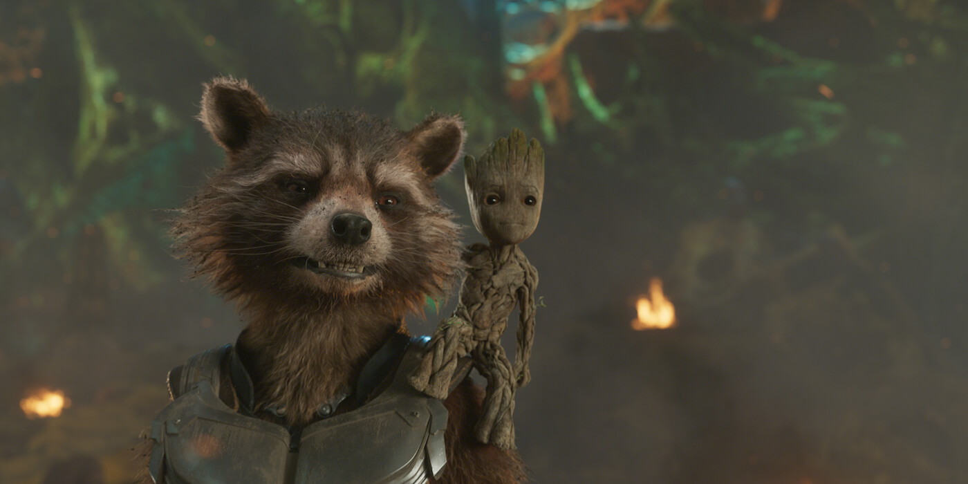 Guardians of the galaxy 2 image rocket groot