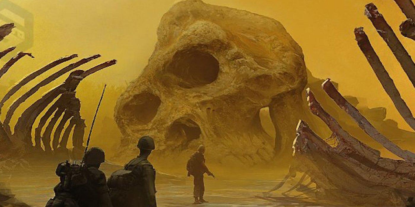 『キングコング:髑髏島の巨神』の体長比較図やコンセプトアート!