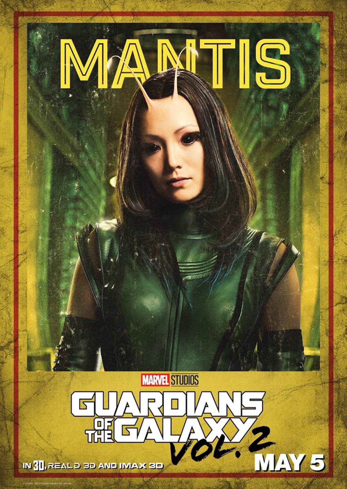 Guardians of the galaxy 2 poster pom klementieff