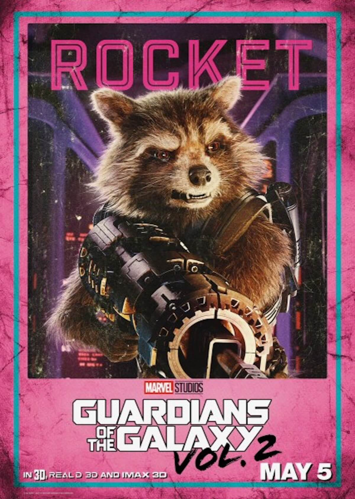 Guardians of the galaxy 2 poster rocket raccoon bradley cooper 427x600