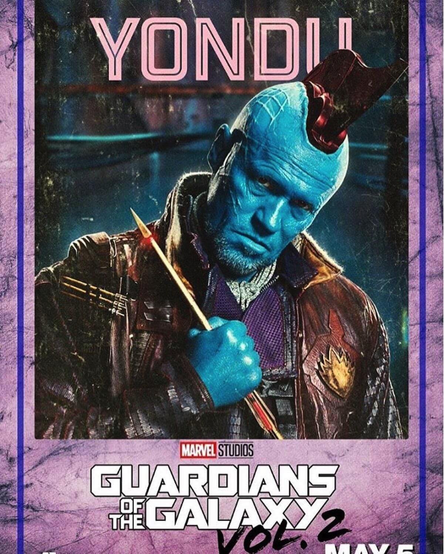 Guardians of the galaxy 2 poster yondu michael rooker