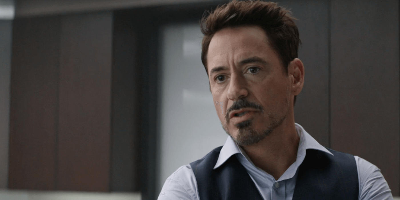 How robert downey jr was transformed into a teen in captain america using special effects