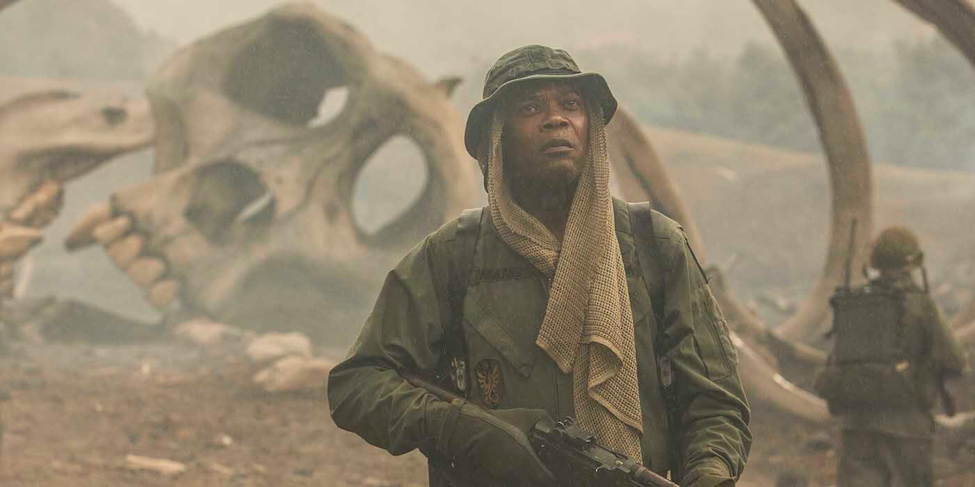 『キングコング:髑髏島の巨神』サミュエル・L・ジャクソンの場面写真&コメントが解禁!