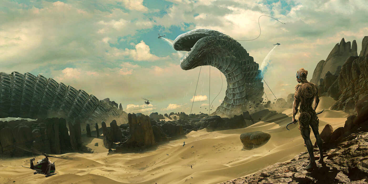 Shai hulud and the god emperor by erikshoemaker d90m52n