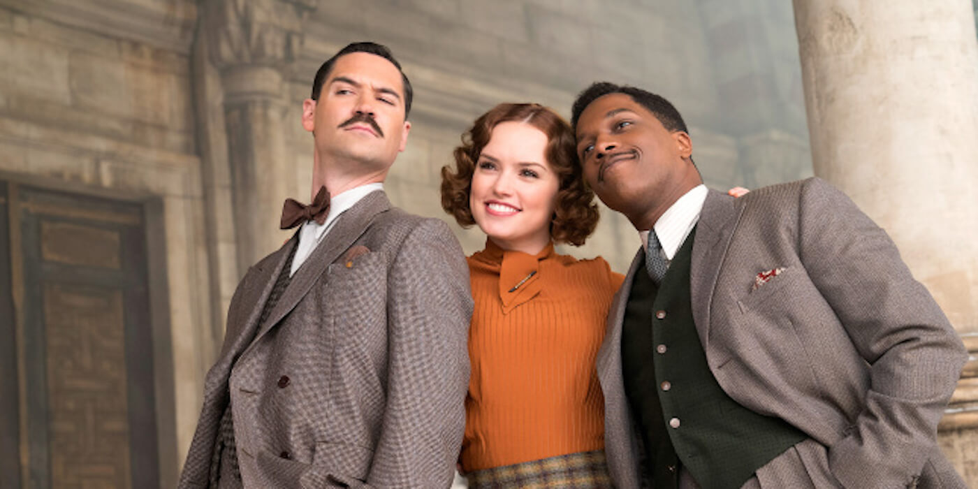 Murder on the orient express daisy ridley leslie odom jr