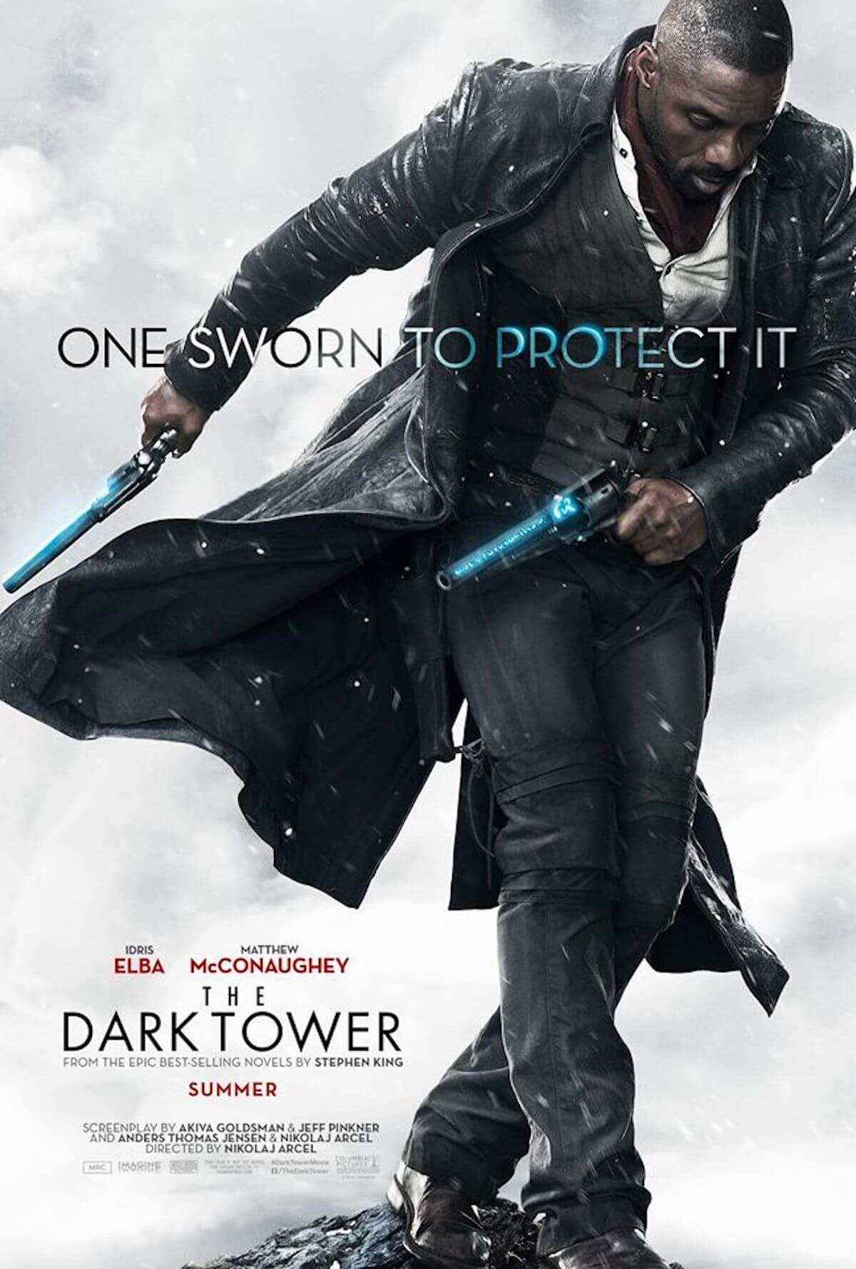 The dark tower poster idris elba