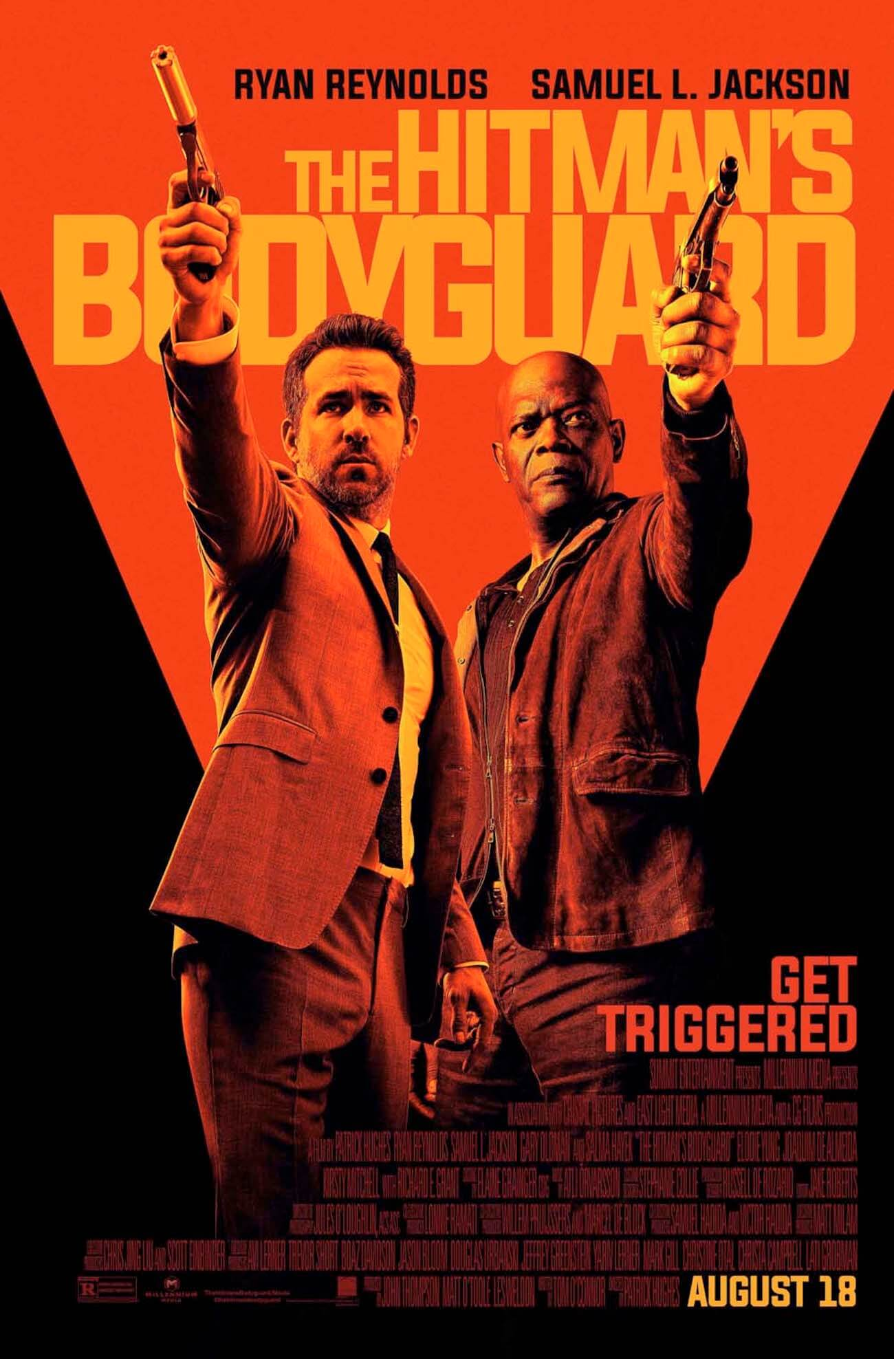 The hitmans bodyguard poster