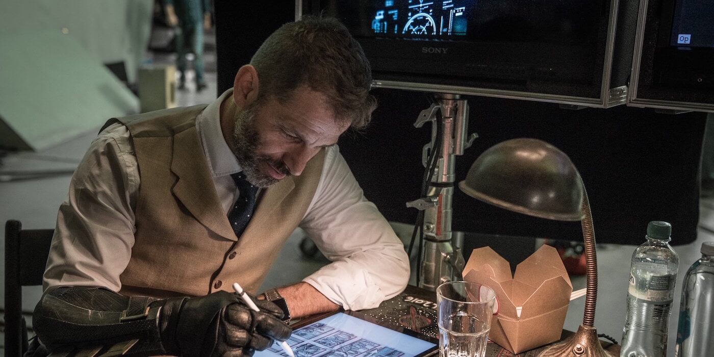 Zack snyder justice league behind the scenes
