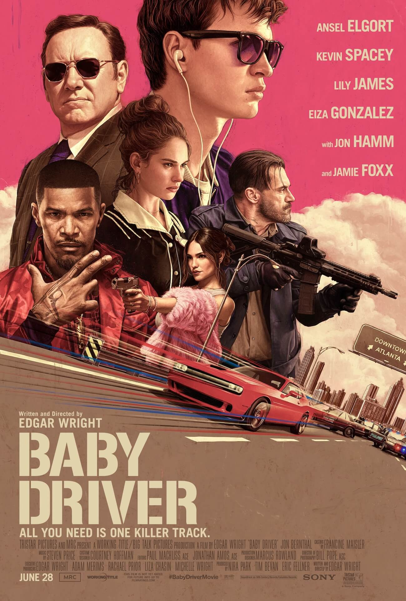 Baby driver final poster